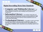digital storytelling meets state standards