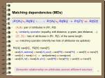 matching dependencies mds