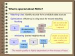 what is special about rcks