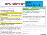 sbac technology enhanced te1