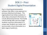 dok 3 prezi student digital presentation