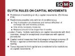 eu fta rules on capital movements