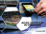 acces controlat in stadioane