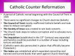 catholic counter reformation
