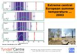 extreme central european summer temperature 2003