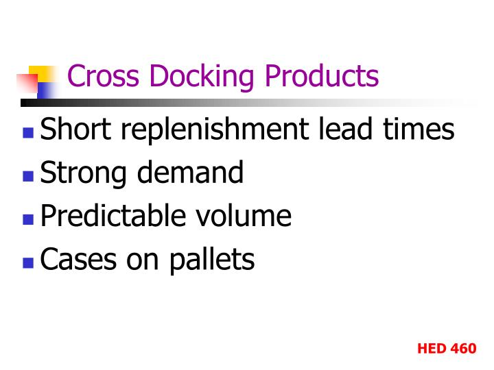 Cross Docking Products