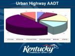 urban highway aadt