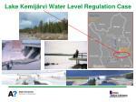 lake kemij rvi water level regulation case