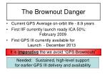 the brownout danger