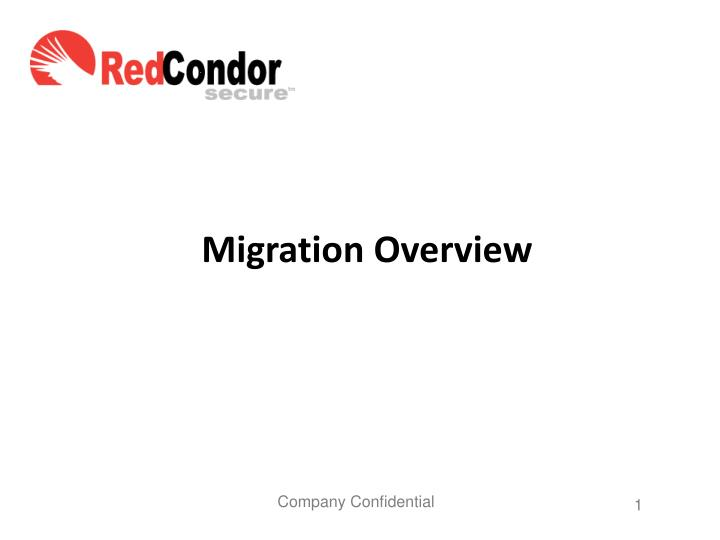 migration overview n.