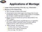 applications of montage