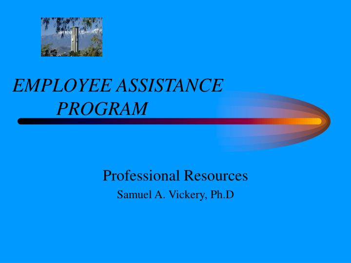 employee assistance program n.