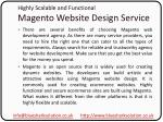 highly scalable and functional magento website design service1