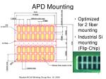 apd mounting