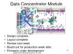 data concentrator module