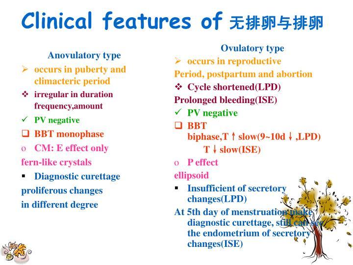 Anovulatory type