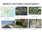 impacts on public investment