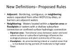 new definitions proposed rules1