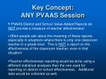 key concept any pvaas session1