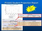 pvaas student projection report