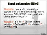 check on learning elo 2