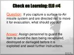 check on learning elo 4