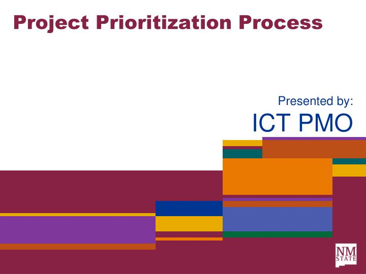 project prioritization process n.