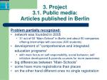 3 project 3 1 public media articles published in berlin1