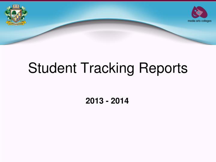 student tracking reports n.