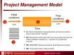 project management model