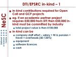 dti epsrc in kind 1