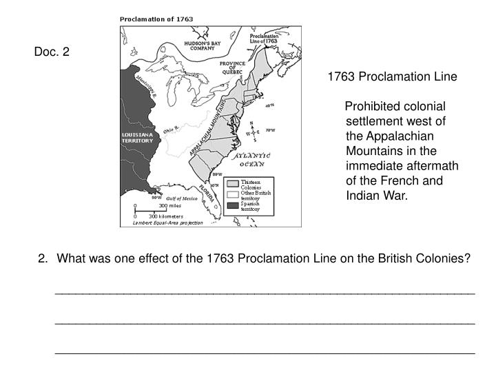 the effects of the proclamation of 1763 on the americans dependence on england The proclamation of 1763 intended to keep the colonists and ohio valley tribes separated as much as possible, the proclamation of 1763 established a boundary running along the crest of the appalachian mountains.