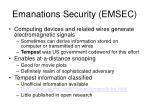 emanations security emsec1