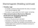 electromagnetic shielding continued