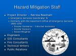 hazard mitigation staff
