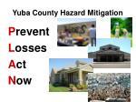 yuba county hazard mitigation