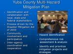 yuba county multi hazard mitigation plan