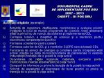 documentul cadru de implementare pos dru 2007 2013 cnd pt oi pos dru1