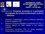 documentul cadru de implementare pos dru 2007 2013 cnd pt oi pos dru6