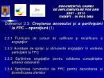 documentul cadru de implementare pos dru 2007 2013 cnd pt oi pos dru8
