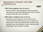 mengukur tingkat return portofolio2