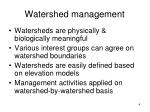 watershed management1