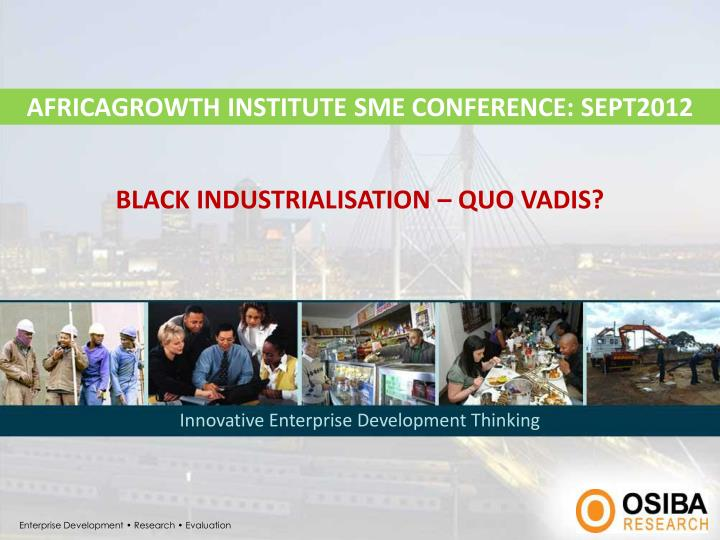 africagrowth institute sme conference sept2012 n.