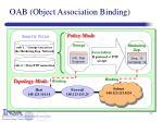oab object association binding