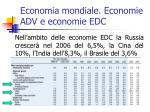 economia mondiale economie adv e economie edc4