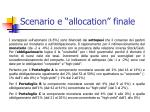 scenario e allocation finale5