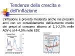 tendenze della crescita e dell inflazione2