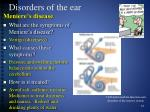 disorders of the ear4