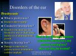 disorders of the ear6