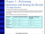 chapter 3 performing operations and storing the results52